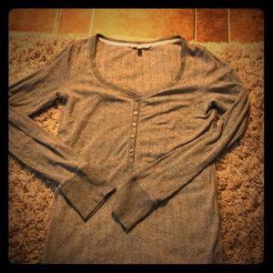 Victoria Secret grey shirt